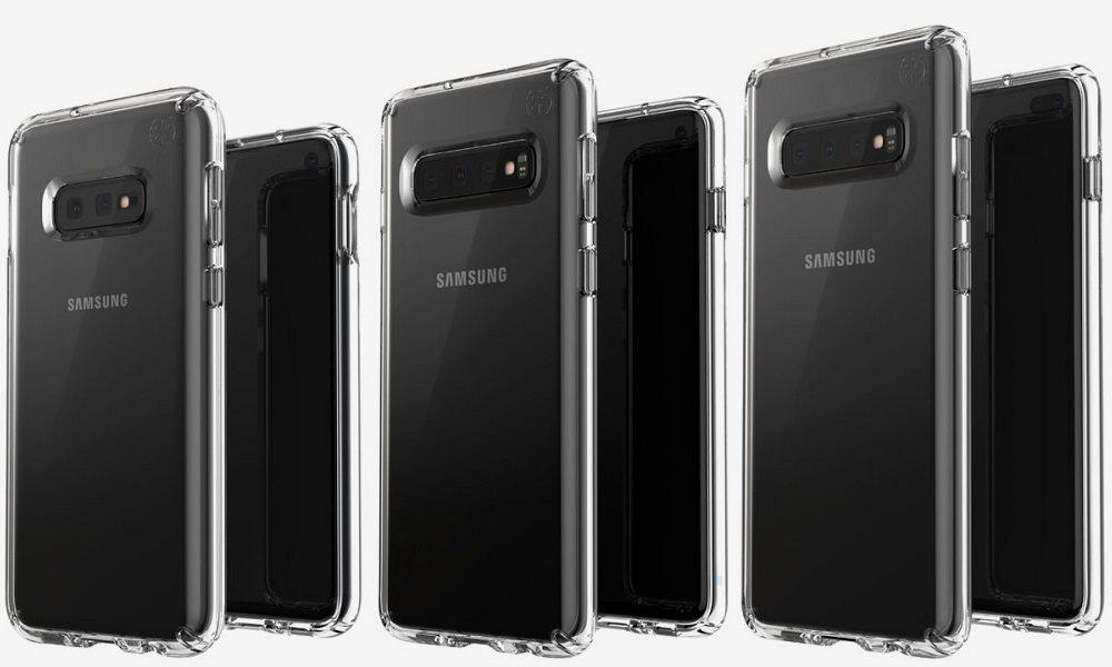 Renders del Galaxy S10 en tres versiones: Galaxy S10E, Galaxy S10 y Galaxy S10 Plus 30