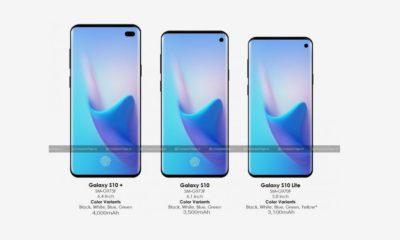Galaxy S10: nuevos detalles sobre su batería y su tamaño de pantalla 55