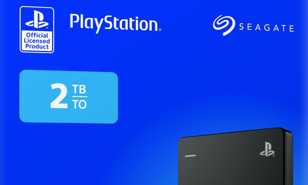 Game Drive de 2 TB para PS4