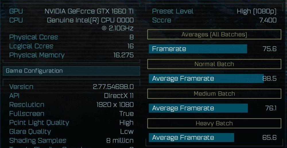 GeForce GTX 1660 Ti en Ashes of the Singularity: prueba de rendimiento 33