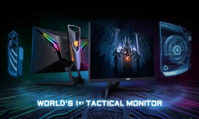 Gigabyte Aorus AD27QD Monitor Tactico Gaming