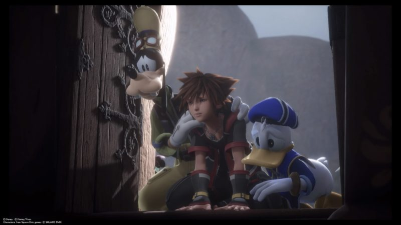 KINGDOM HEARTS Ⅲ Análisis Kingdom Shader