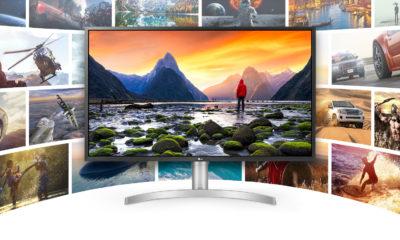 LG 32UL750-W Monitor 4K
