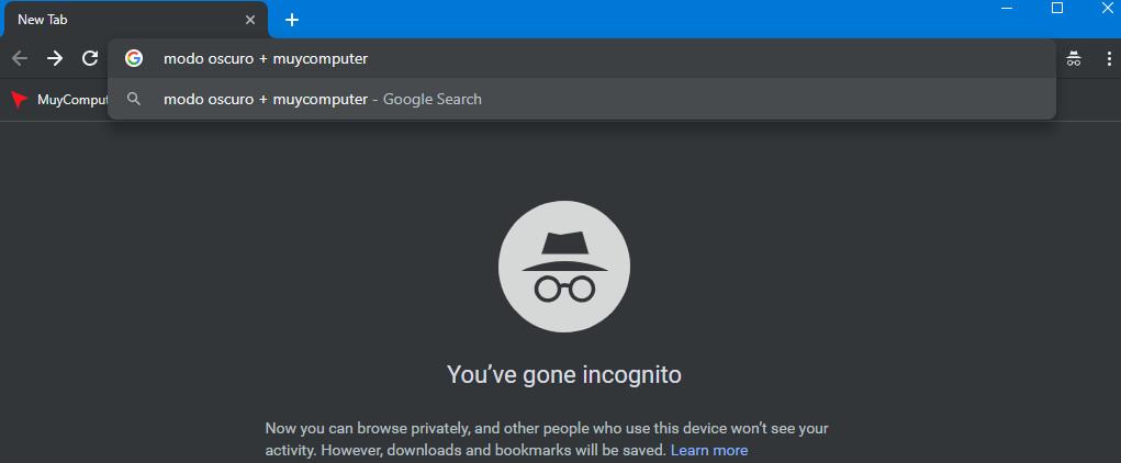 Cómo habilitar el modo oscuro en Chrome para Windows 40