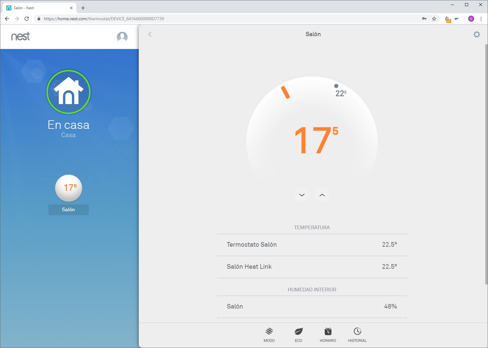 Nest Thermostat E, escuela de calor 47
