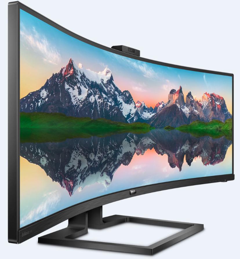 Philips Brilliance 49: llevando al extremo los monitores ultrapanorámicos 32