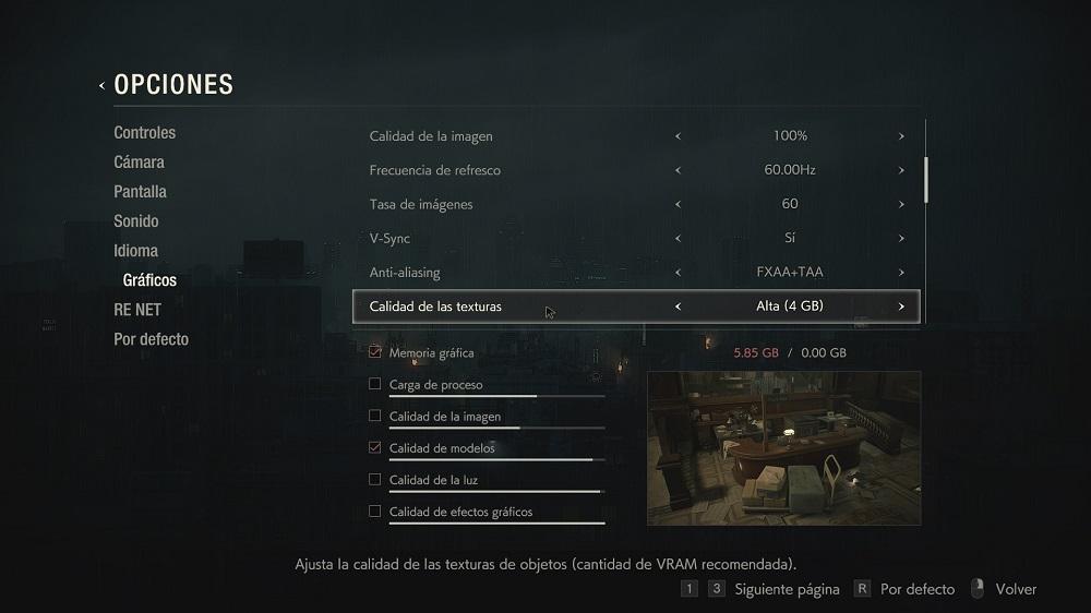 Resident Evil 2 Remake Demo: análisis y rendimiento en PC 38