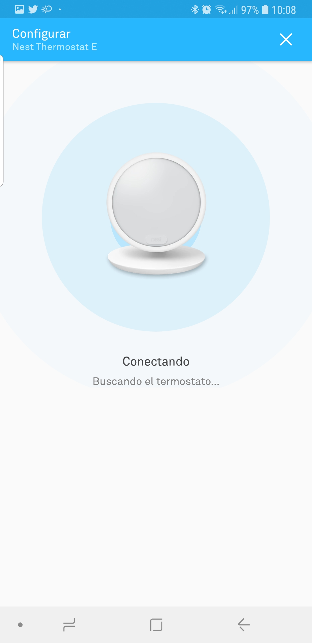 Nest Thermostat E, escuela de calor 39