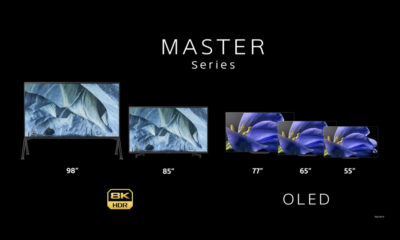Sony TV Master Series 8K 4K