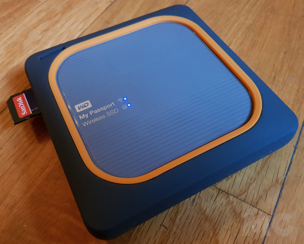 WD My Passport Wireless SSD, análisis 51