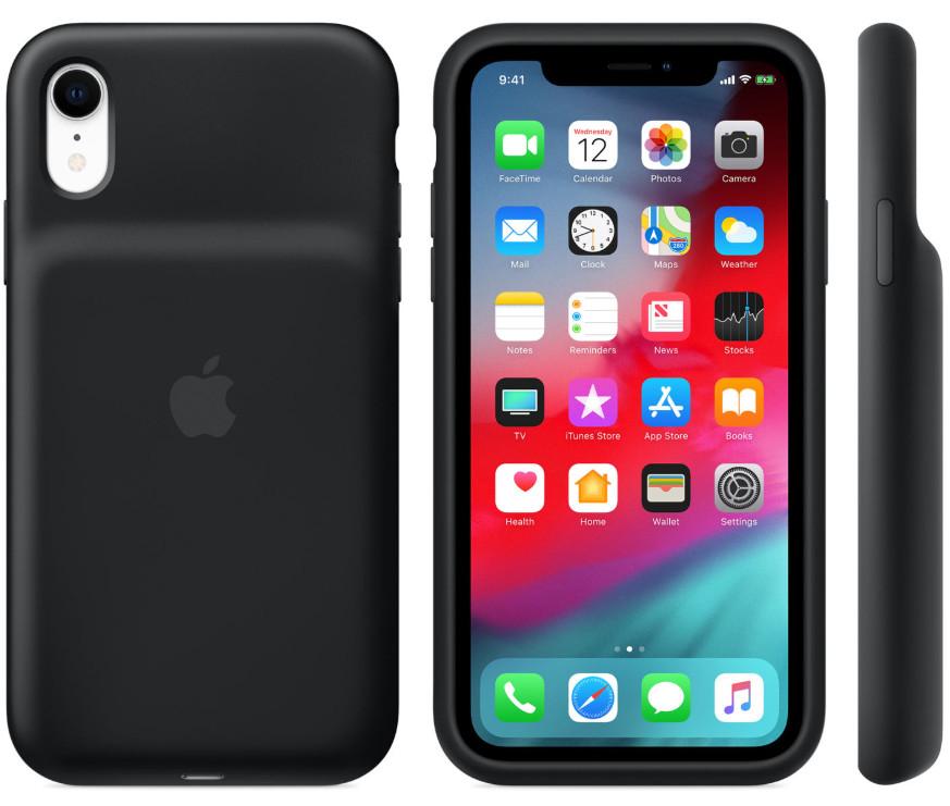 carcasas con batería oficiales para iPhone XR