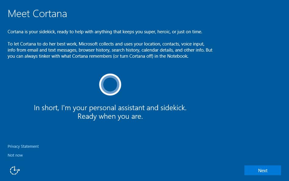 Cortana dejará de molestar cuando instales Windows 10 28