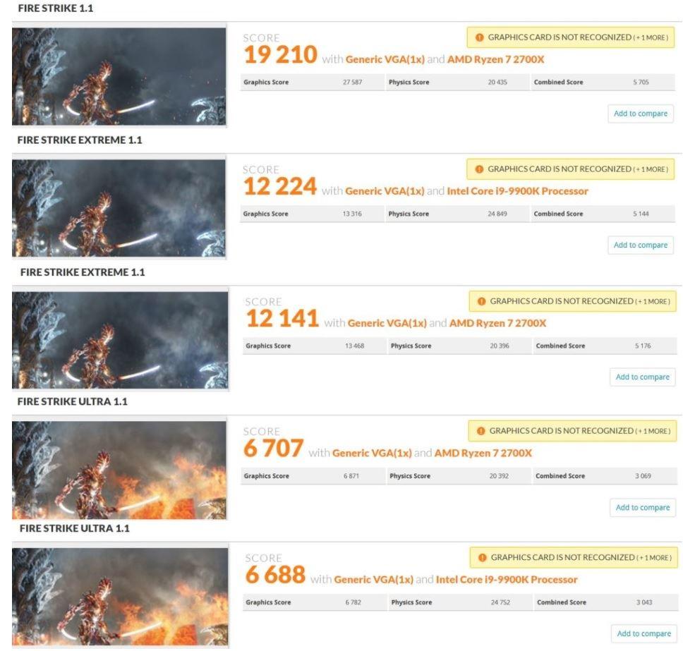 Rendimiento de la AMD Radeon VII en 3DMark y Final Fantasy XV 31