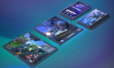 Samsung patenta el smartphone definitivo para gaming: pantalla flexible y botones dedicados 148