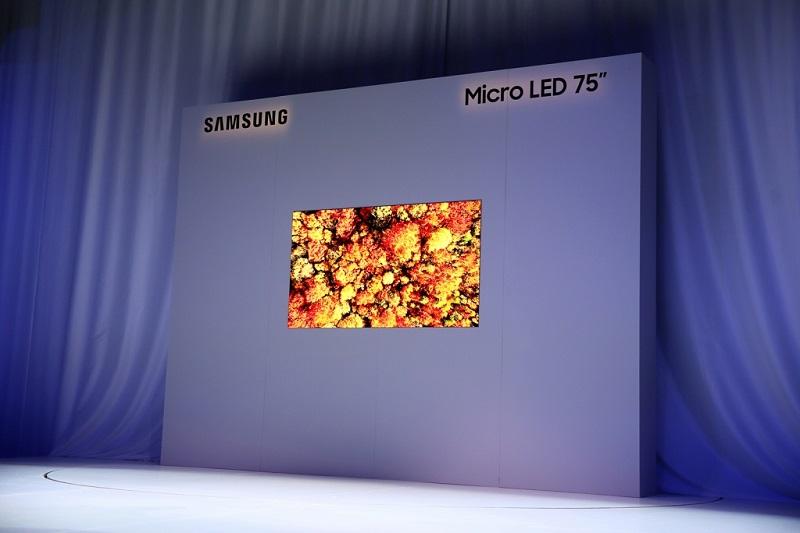 Samsung presume de televisores MicroLED con un modelo de 219 pulgadas 29