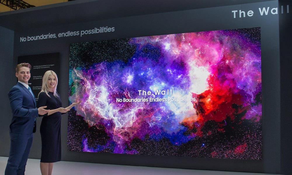 Samsung presume de televisores MicroLED con un modelo de 219 pulgadas 27