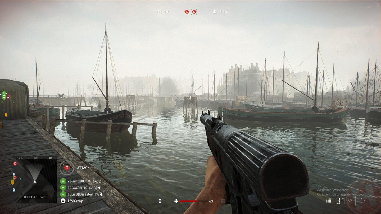 Battlefield V con trazado de rayos funciona en tarjetas gráficas sin núcleos RT 33