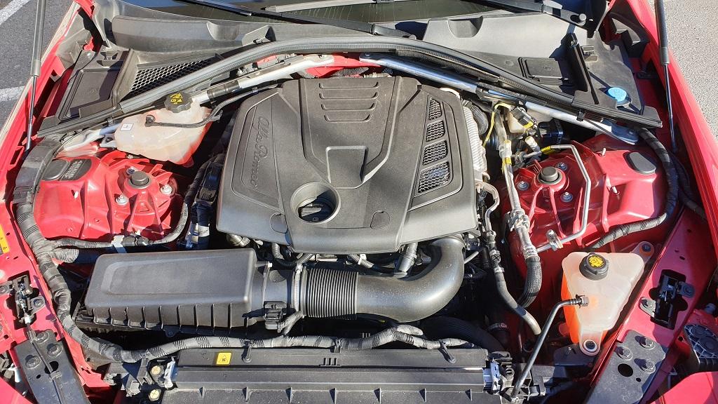 Alfa Romeo Giulia 200CV, vitalidad 36