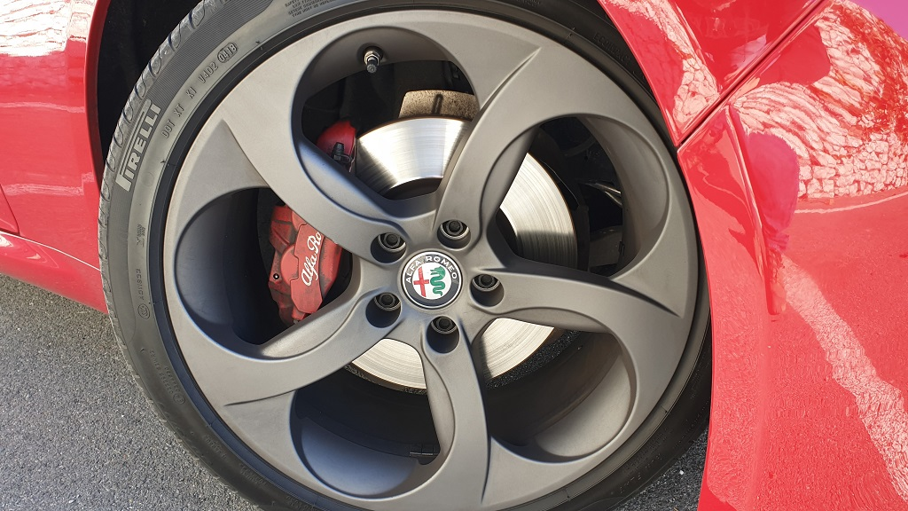 Alfa Romeo Giulia 200CV, vitalidad 33