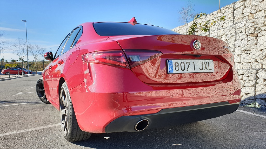 Alfa Romeo Giulia 200CV, vitalidad 40