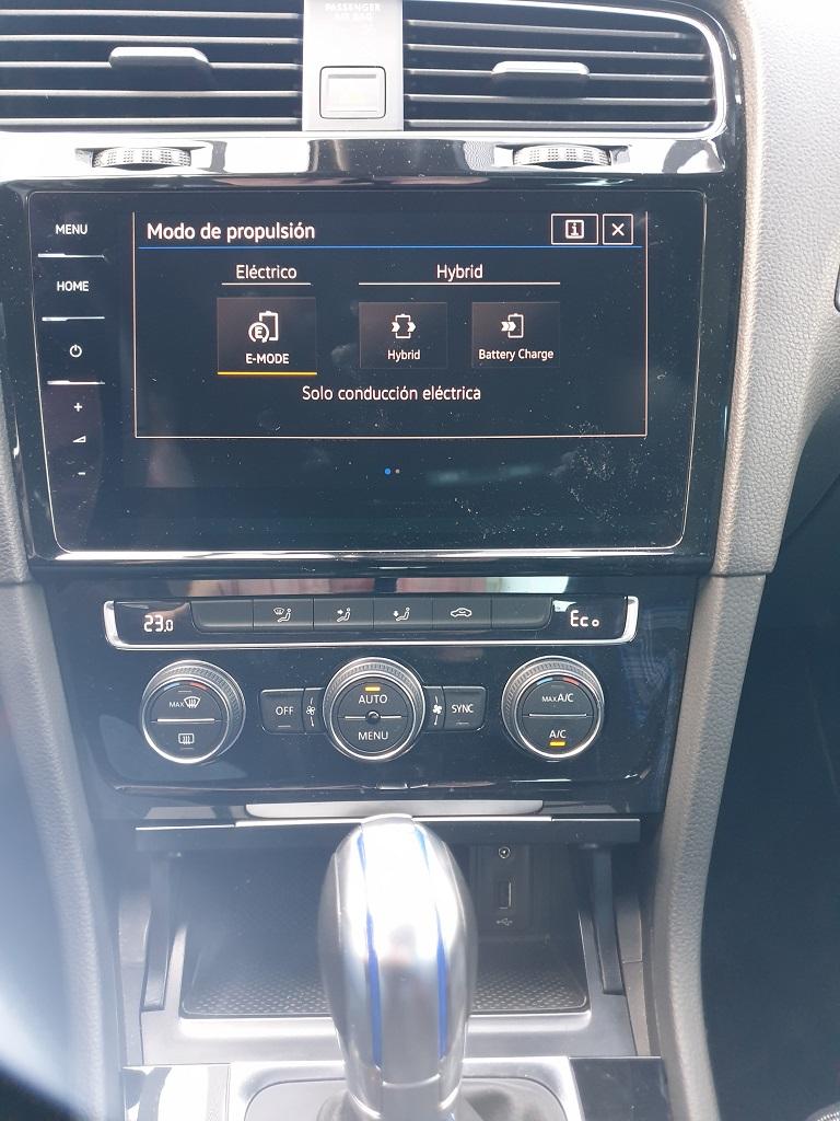 Volkswagen Golf GTE, conexiones 45