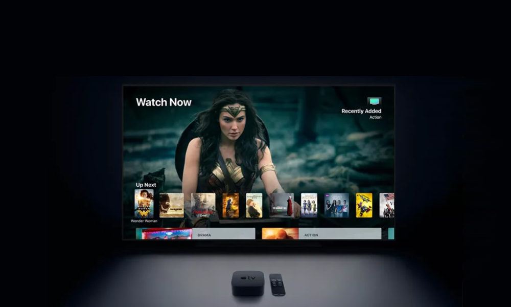 Apple TV Servicio VOD Series Peliculas