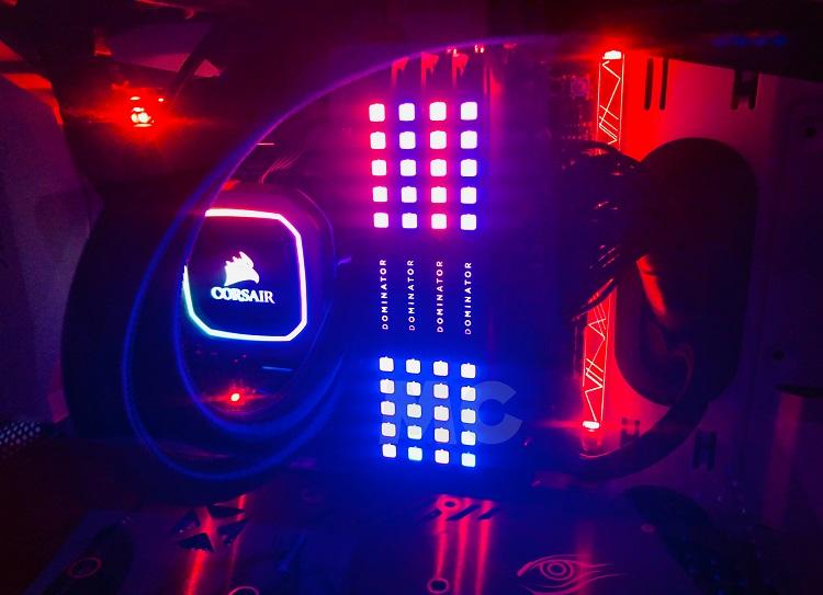 Corsair Dominator Platinum RGB DDR4, análisis: luces, cámara ¡acción! 65