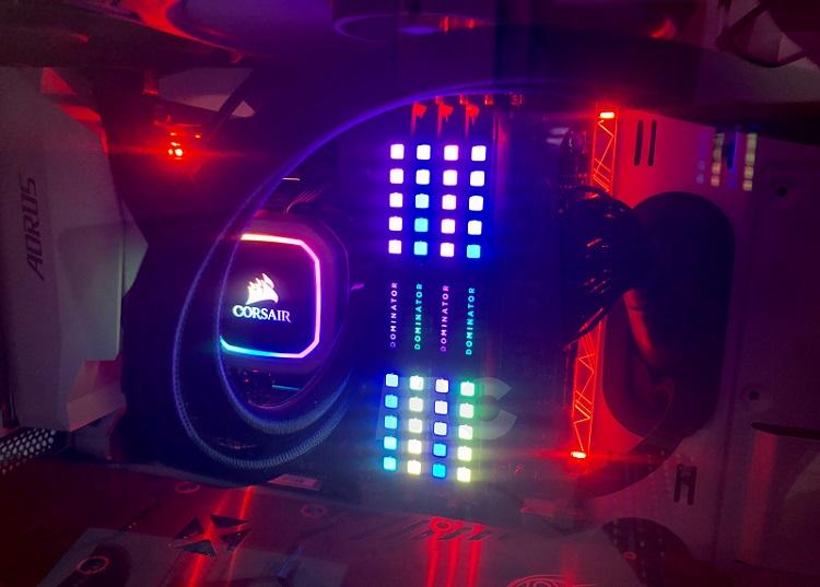 Corsair Dominator Platinum RGB DDR4, análisis: luces, cámara ¡acción! 63