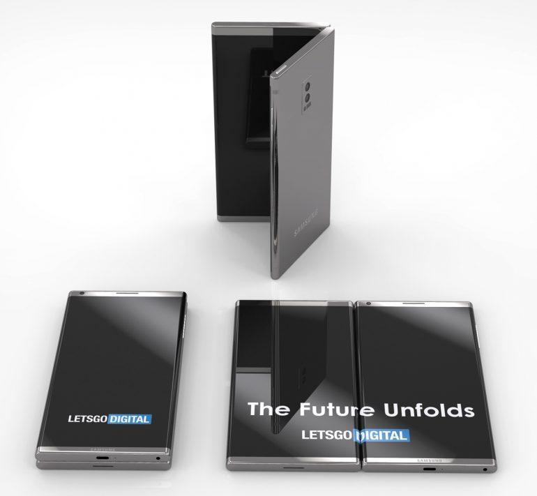 Diseño conceptual del Galaxy F de Samsung: impresionante 31