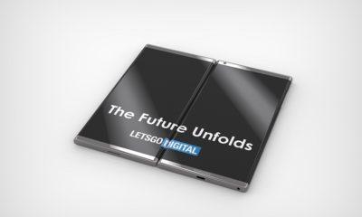 Diseño conceptual del Galaxy F de Samsung: impresionante 36