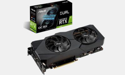 ASUS GeForce RTX 2080 Dual EVO: alto rendimiento, gran formato 30