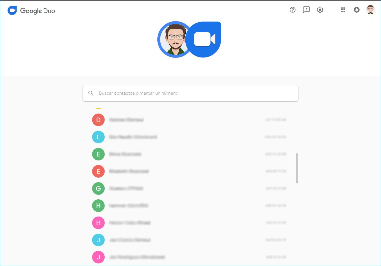 Google Duo habilita sus videollamadas a través de la web 31