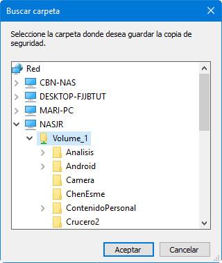 imagen de sistema en Windows 10