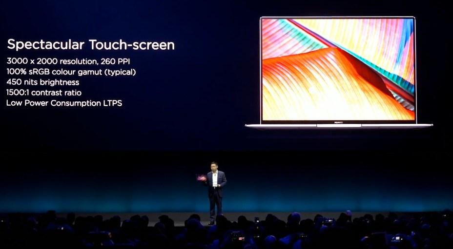 Huawei presenta el Matebook 14 y actualiza el Matebook X Pro 37