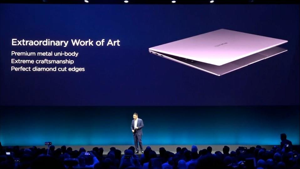 Huawei presenta el Matebook 14 y actualiza el Matebook X Pro 39
