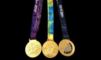 Medallas Tokio 2020 Recicladas