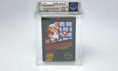 Vendido cartucho de Super Mario Bros por más de cien mil dólares 30