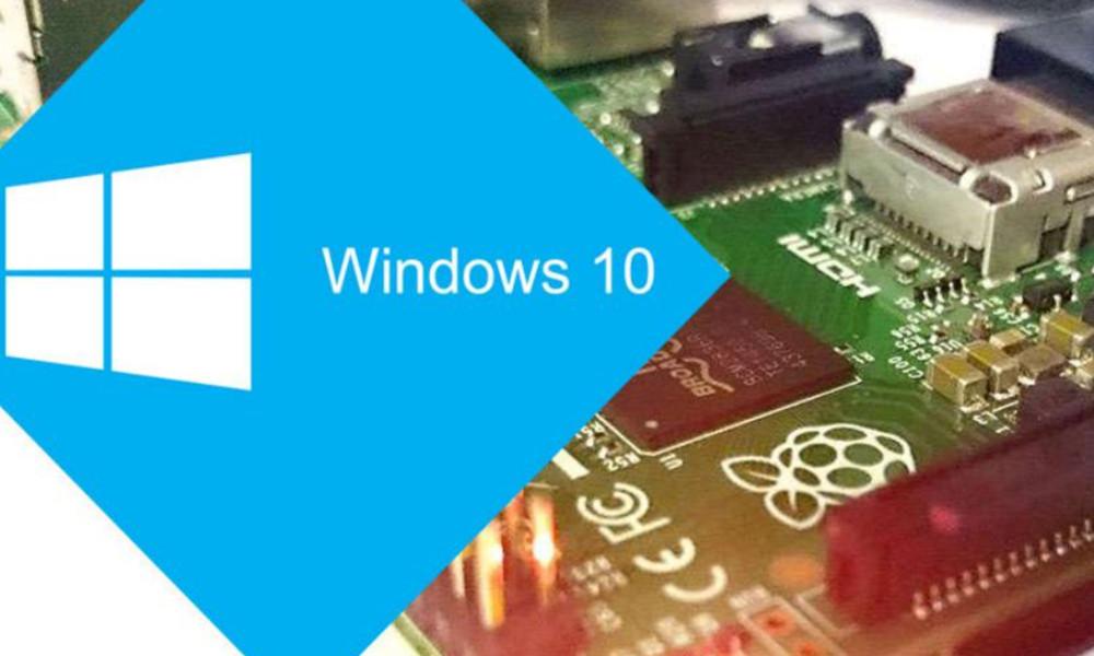 Windows 10 ARM para Raspberry Pi