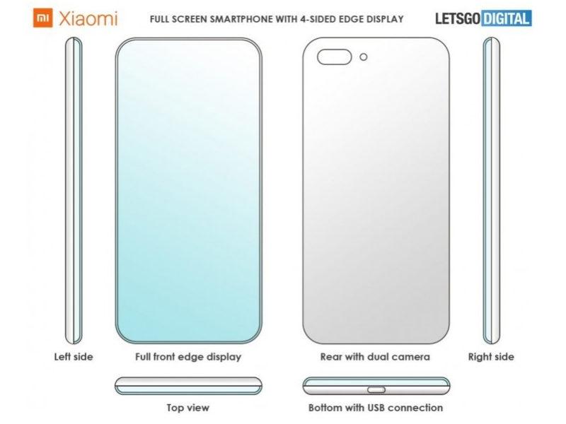 Xiaomi Patente Full Pantalla
