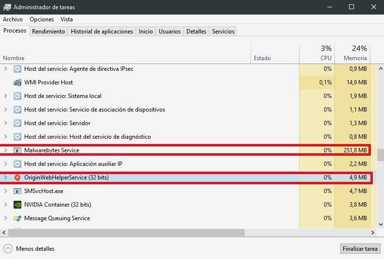 Cómo liberar memoria RAM en Windows 10 41