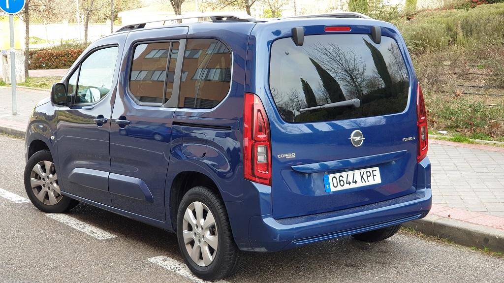 Opel Combo Life, compenetrado 43