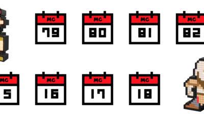 Calendario Gamer MC