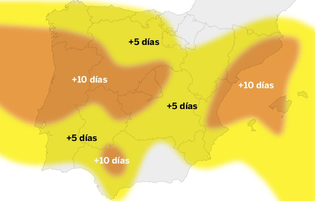 cambio climático en España