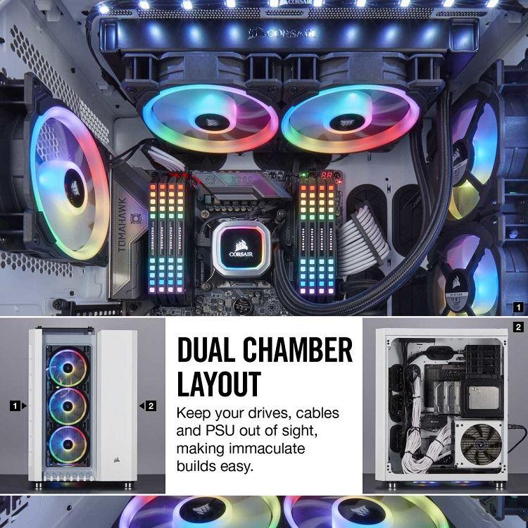 Corsair presenta los chasis Crystal Series 680X RGB y Carbide Series 678C 29