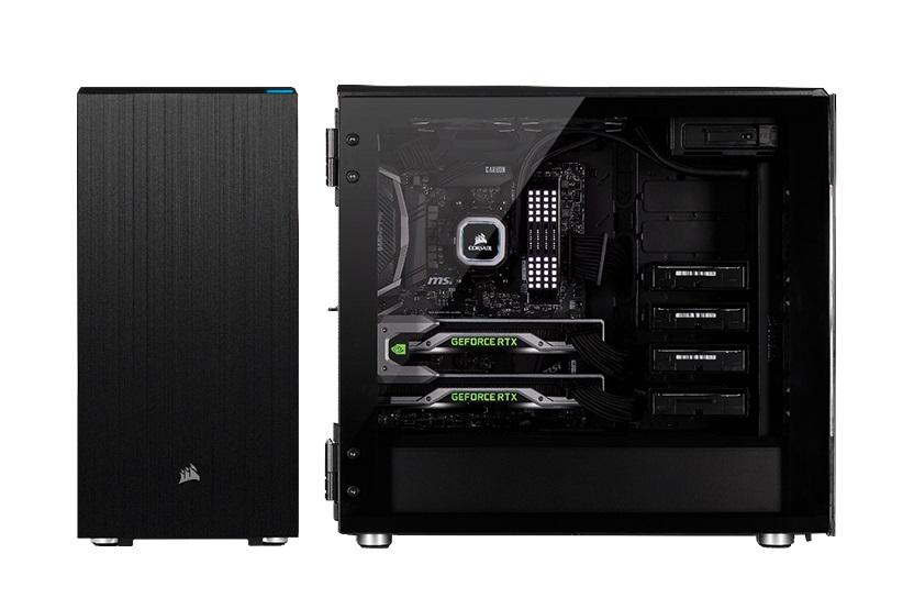 Corsair presenta los chasis Crystal Series 680X RGB y Carbide Series 678C 33