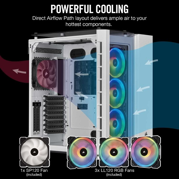 Corsair presenta los chasis Crystal Series 680X RGB y Carbide Series 678C 31