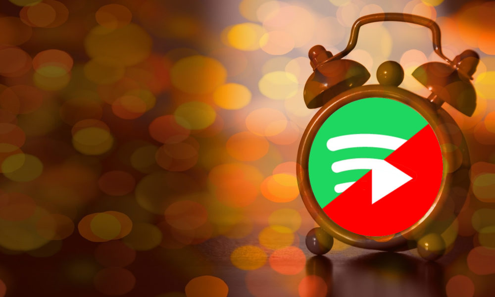 Google Reloj Alarma Spotify YouTube Music