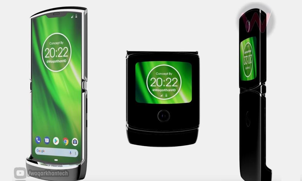 Motorola RAZR 2019: así funcionarán sus pantallas 27
