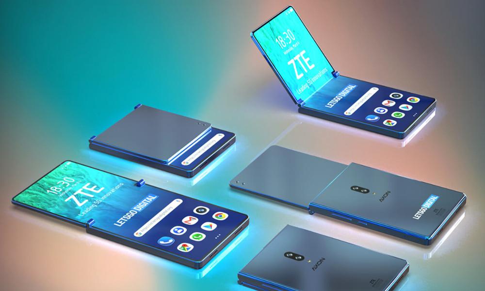 smartphone plegable de ZTE