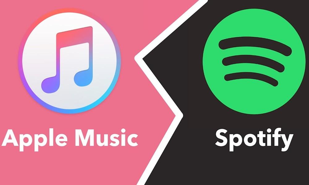 Spotify y Apple